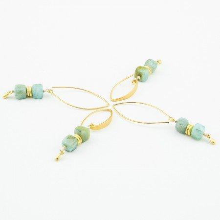 Peruvian Opal Earring Assortment by La Isla Jewelry
