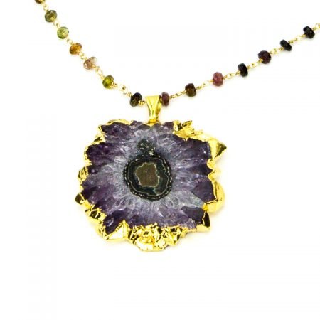 Amethyst Stalactite Close Up by La Isla Jewelry