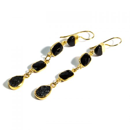 872236E Spinel Tier Dangles by La Isla Jewelry