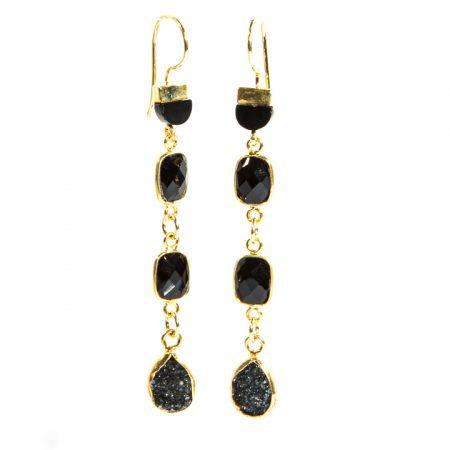 872236E Spinel Tier Drops by La Isla Jewelry
